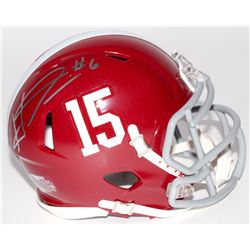 HaHa Clinton-Dix Signed Alabama Crimson Tide Mini Speed Helmet (Dixon Hologram)