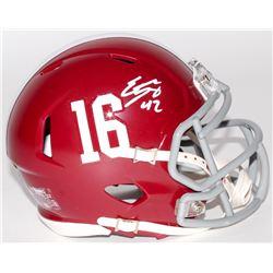Eddie Lacy Signed Alabama Crimson Tide Mini Speed Helmet (Radtke COA)