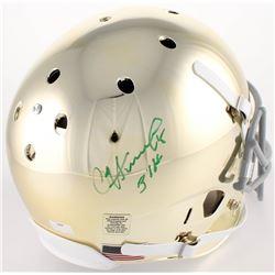 "Paul Hornung Signed Notre Dame Fighting Irish Full-Size Helmet Inscribed ""56 H"" (Radtke COA)"
