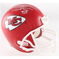 Travis Kelce Signed Chiefs Full-Size Helmet (Radtke COA)