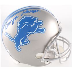 Kerryon Johnson Signed Lions Full-Size Helmet (Radtke COA)