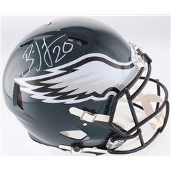 Brian Dawkins Signed Eagles Full-Size Authentic On-Field Speed Helmet (JSA COA)