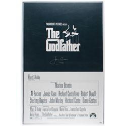 "James Caan Signed ""The Godfather"" 24x36 Photo Inscribed ""Sonny"" (Schwartz COA)"