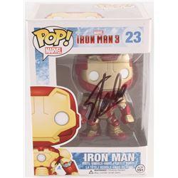 "Stan Lee Signed ""Iron Man"" #23 Iron Man 3 Marvel Funko Pop Vinyl Bobble-Head Figure (Lee Hologram)"
