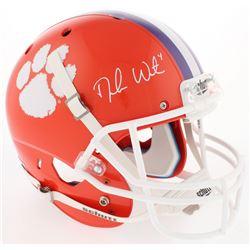 Deshaun Watson Signed Clemson Tigers Full-Size Helmet (Radtke COA  Watson Hologram)
