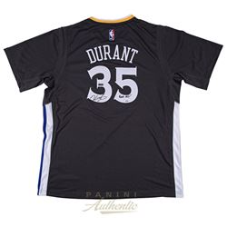 """Kevin Durant Signed Warriors Adidas Jersey Inscribed """"Finals MVP"""" (Panini COA)"""
