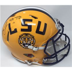 Leonard Fournette Signed Limited Edition LSU Tigers Full-Size Authentic On-Field Speed Helmet Inscri