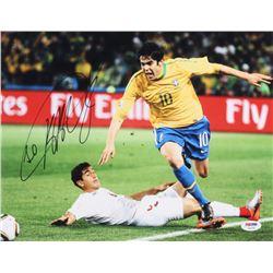 Kaka Signed Brasil 11x14 Photo (PSA COA)