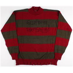 "Robert Englund Signed ""Nightmare on Elm Street"" Sweater Inscribed ""Freddy Krueger"" (JSA COA)"