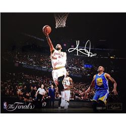 """Kyrie Irving Signed Cavaliers """"Finish"""" 16x20 Limited Edition Photo (Panini COA)"""