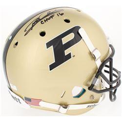 "Rod Woodson Signed Purdue Boilmakers Full-Size Helmet Inscribed ""CHOF 2016"" (Radtke COA)"