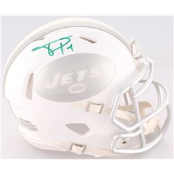 Terrelle Pryor Signed Jets White ICE Speed Mini Helmet (Radtke COA)