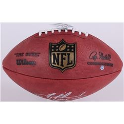 """Troy Aikman Signed """"The Duke"""" Limited Edition NFL Official Game Ball Inscribed """"HOF '06"""" (Steiner CO"""