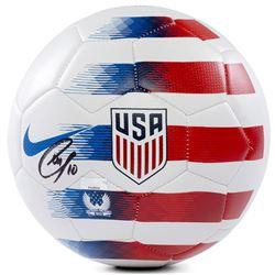 Christian Pulisic Signed Nike 2018 USA White Prestige Soccer Ball (Panini COA)