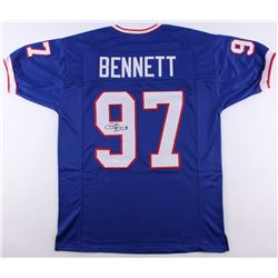 Cornelius Bennett Signed Bills Jersey (JSA COA)
