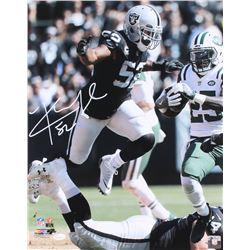 Khalil Mack Signed Raiders 16x20 Photo (JSA COA)