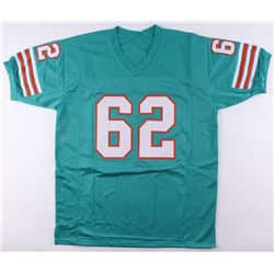 Jim Langer Signed Dolphins Jersey Inscribed  '87  (SGC COA)