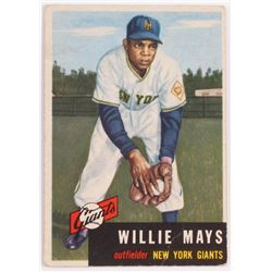 1953 Topps #244 Willie Mays