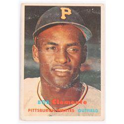 1957 Topps #76 Roberto Clemente