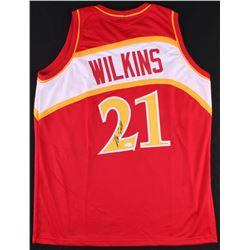 Dominique Wilkins Signed Hawks Jersey (JSA COA)