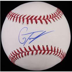 Gleyber Torres Signed OML Baseball (JSA COA)