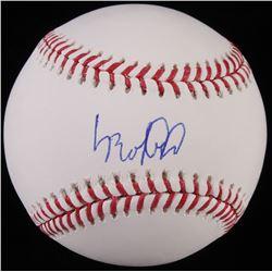 Luis Robert Signed OML Baseball (JSA COA)