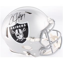 Bo Jackson Signed Raiders Full-Size Authentic On-Field Speed Helmet (Jackson Hologram)