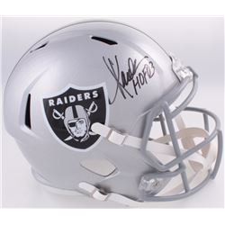 "Marcus Allen Signed Raiders Full-Size Speed Helmet Inscribed ""HOF 03"" (Allen Hologram)"