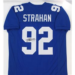 Michael Strahan Signed Giants Jersey (JSA COA)
