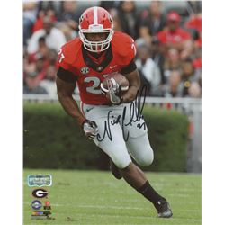 Nick Chubb Signed Georgia Bulldogs 8x10 Photo (Radtke Hologram)