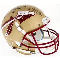 Jameis Winston, Charlie Ward  Chris Weinke Florida State Seminoles Full-Size Helmet with (3) Heisman