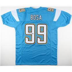 Joey Bosa Signed Chargers Jersey (JSA COA)