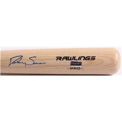 Dansby Swanson Signed Rawlings Pro Baseball Bat (Radtke Hologram)