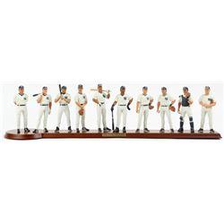 1998 New York Yankees (10) Piece Figurine Display