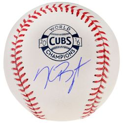 Kris Bryant Signed 2016 World Series Logo Baseball (Fanatics Hologram)