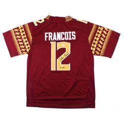 """Deondre Francois Signed Florida State Seminoles Jersey Inscribed """"Go Noles"""" (PSA COA)"""