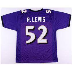 Ray Lewis Signed Ravens Jersey (JSA COA)