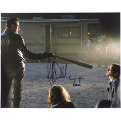 "Jeffrey Dean Morgan Signed ""The Walking Dead"" 16x20 Photo Inscribed ""Negan"" (Radtke Hologram)"