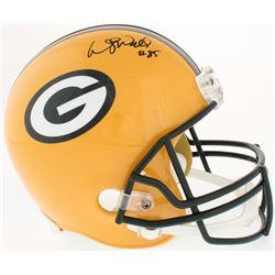 Wesley Walls Signed Packers Full-Size Helmet (Radtke COA)