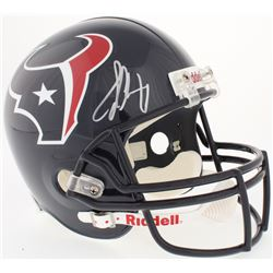 Jadeveon Clowney Signed Texans Full-Size Helmet (Steiner COA)