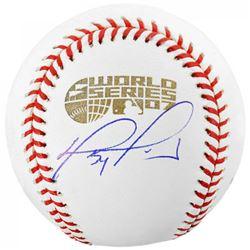 David Ortiz Signed 2007 World Series Baseball (Fanatics Hologram  MLB Hologram)