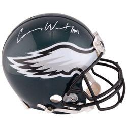 "Carson Wentz Signed Eagles Full-Size Authentic On-Field Helmet Inscribed ""AO1"" (Fanatics Hologram)"