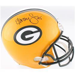 Dorsey Levens Signed Packers Full-Size Helmet (Beckett COA)