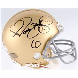 Jerome Bettis Signed Notre Dame Fighting Irish Mini-Helmet (JSA COA)