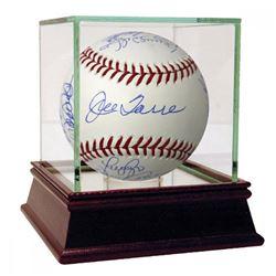 New York Yankees 1999 World Series Logo Baseball Signed by (12) with Joe Torre, Paul O'Neil, Mariano