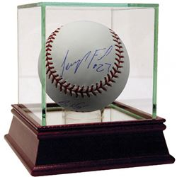 Jeurys Familia  Billy Wagner Signed Baseball with High Quality Display Case (Steiner COA)