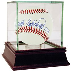 """Frank Robinson Signed OML Baseball Inscribed """"TC 66"""" with High Quality Display Case (Steiner COA)"""