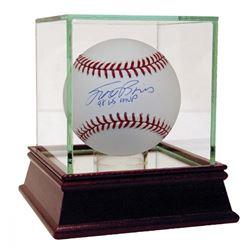 "Scott Brosius Signed Baseball Inscribed ""98 WS MVP"" (MLB Hologram)"