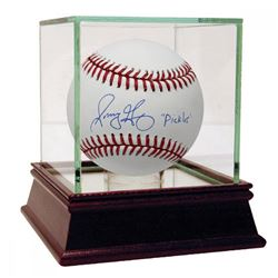 """Sonny Gray Signed Baseball Inscribed """"Pickles"""" with High Quality Display Case (Steiner COA)"""