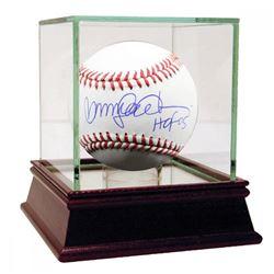 "Ryne Sandberg Signed Baseball Inscribed ""HOF 05"" with High Quality Display Case (Steiner COA)"